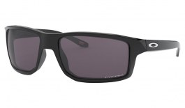 Oakley Gibston Sunglasses - Polished Black / Prizm Grey