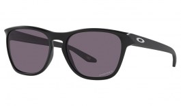 Oakley Manorburn Sunglasses - Matte Black / Prizm Grey