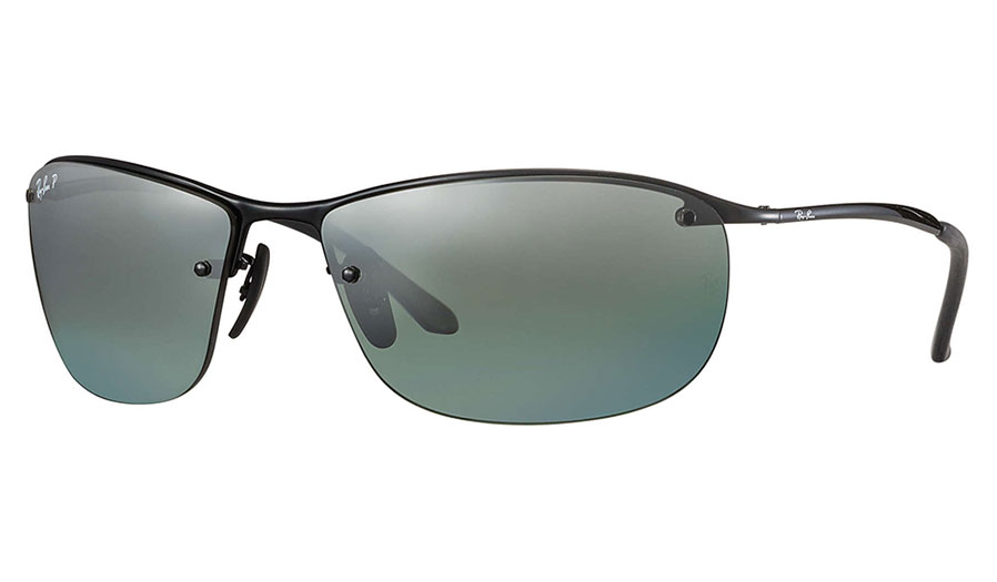 520ecea24d Ray-Ban RB3542 Sunglasses - Black   Grey Mirror Chromance Polarised ...