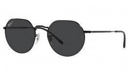 Ray-Ban RB3565 Jack Sunglasses - Black / Grey Polarised