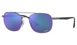 Ray-Ban RB3670CH Sunglasses - Gunmetal / Blue Mirror Crystal Chromance Polarised
