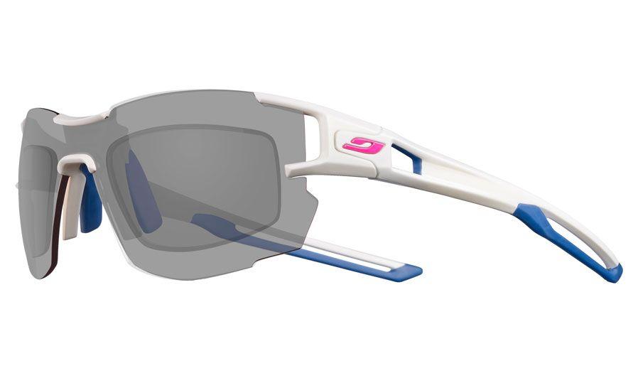 Julbo Aerolite Prescription Sunglasses - Directly Glazed - Matte White & Blue