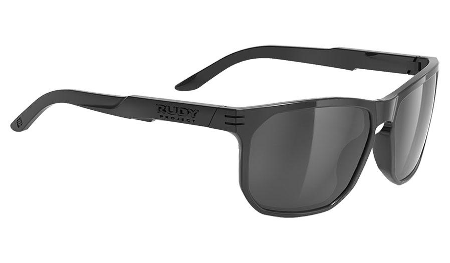 Rudy Project Soundrise Sunglasses - Gloss Black / Smoke Black