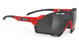 Rudy Project Cutline Sunglasses - Matte Fire Red / Smoke Black