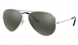 Ray-Ban RB3025 Aviator Sunglasses - Silver / Silver Mirror