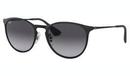 Ray-Ban RB3539 Erika Metal Sunglasses - Black / Grey Gradient