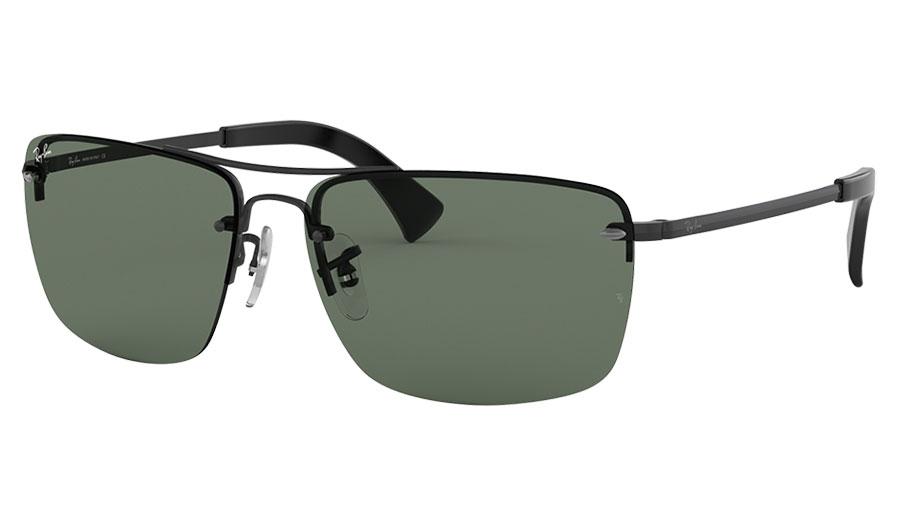 Ray-Ban RB3607 Sunglasses - Black / Green