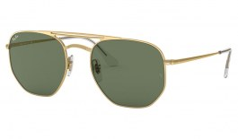 Ray-Ban RB3609 Sunglasses - Gold / Green