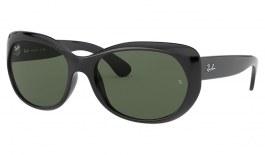 Ray-Ban RB4325 Sunglasses - Black / Green