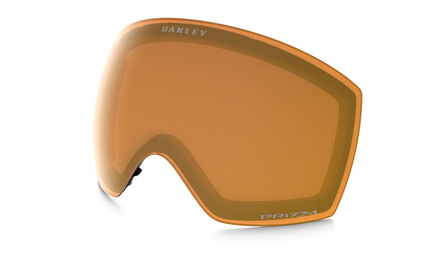 Oakley Flight Deck XM Ski Goggles Replacement Lens Kit - Prizm Persimmon