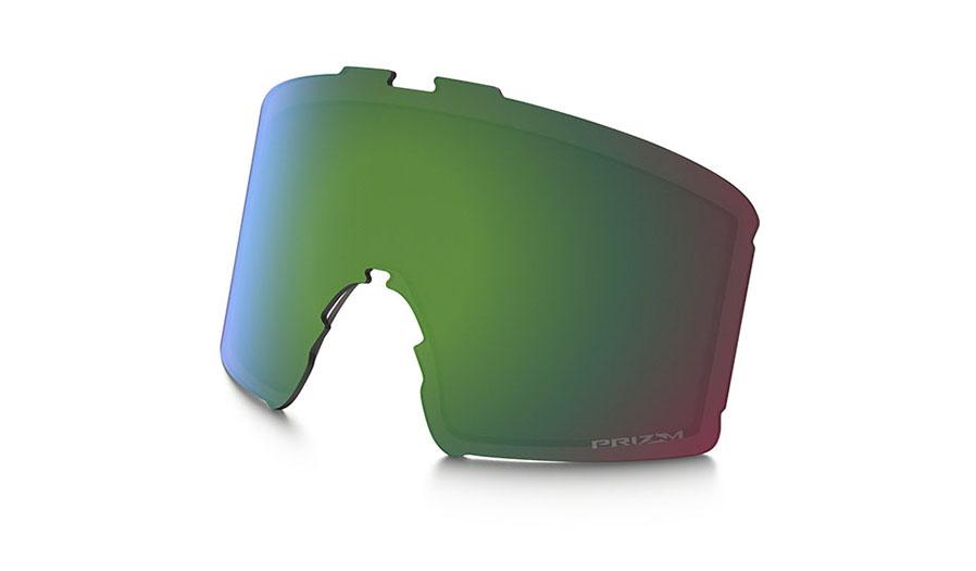 Oakley Line Miner Youth Ski Goggles Replacement Lens Kit - Prizm Jade Iridium