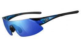 Tifosi Podium XC Sunglasses - Crystal Blue - Clarion Blue + AC Red + Clear