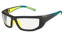 Bolle Playoff Glasses - Black & Yellow / Clear