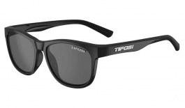 Tifosi Swank Sunglasses - Satin Black / Smoke Polarised