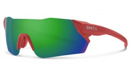 Smith Attack MAG Sunglasses - Matte Red Rock / ChromaPop Sun Green Mirror + ChromaPop Contrast Rose