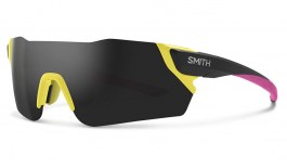 Smith Attack MAG Sunglasses - Matte Citron / ChromaPop Sun Black Mirror + ChromaPop Contrast Rose