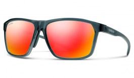 Smith Pinpoint Sunglasses - Crystal Mediterranean / ChromaPop Red Mirror