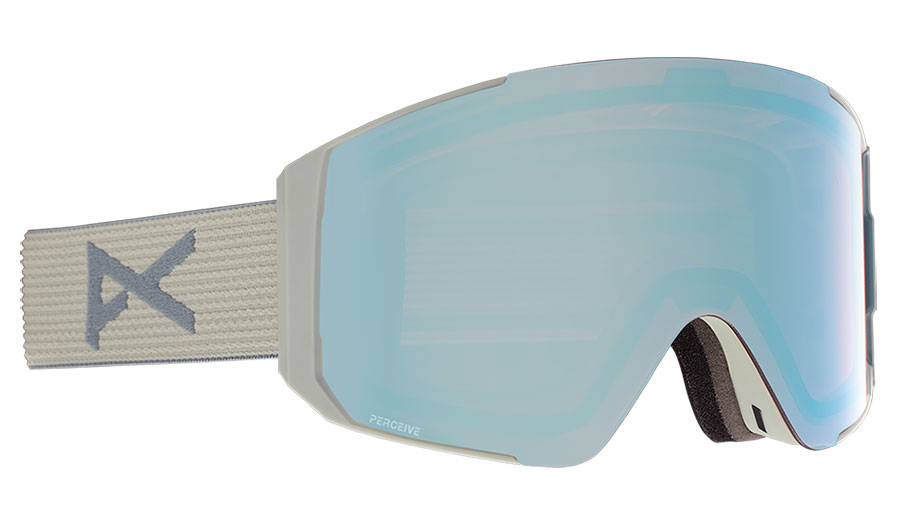 Anon Sync Ski Goggles - Gray / Perceive Variable Blue + Perceive Cloudy Pink
