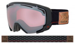 Bolle Supreme OTG Ski Goggles - Shiny Black & Red / Vermillon Gun
