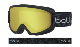 Bolle Freeze Ski Goggles - Matte Black / Lemon