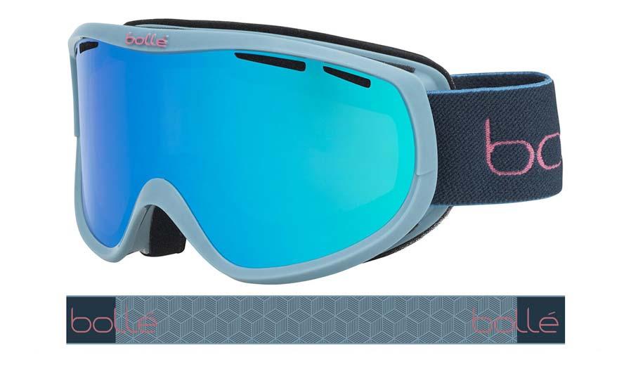 Bolle Sierra Ski Goggles - Shiny Blue Storm / Aurora