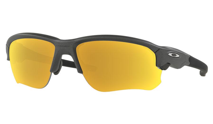 3c14812f40a Oakley Flak Draft Prescription Sunglasses - Steel - RxSport