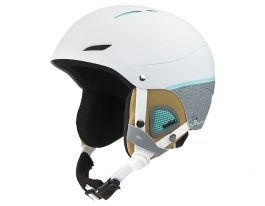 Bolle Juliet Ski Helmet - Soft White & Grey