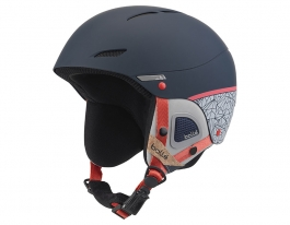 Bolle Juliet Ski Helmet - Navy & Rose