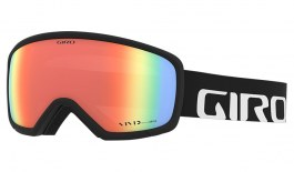 Giro Ringo Prescription Ski Goggles - Black Wordmark / Vivid Infrared