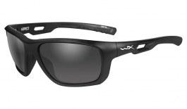 Wiley X Aspect Sunglasses - Matte Black / Grey