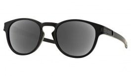 Oakley Latch Prescription Sunglasses - Matte Black (Polished Black Icon)