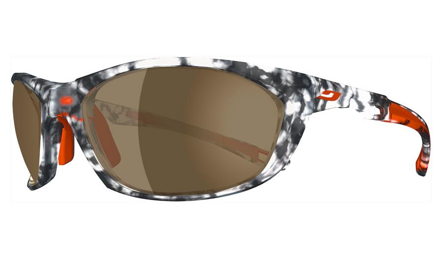 21bcbd7968 Julbo Race 2.0 Prescription Sunglasses - Tortoiseshell Grey   Orange - Julbo  Prescription Sunglasses - RxSport