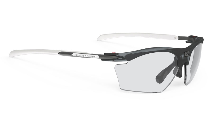 Rudy Project Rydon Slim Prescription Sunglasses - Directly Glazed - Frozen Ash & White