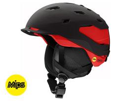 Smith Quantum MIPS Ski Helmet - Matte Black Rise