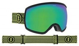 Electric EGG Ski Goggles - Volt Stripe / Brose Green Chrome