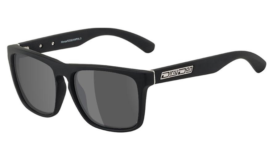 Dirty Dog Monza Prescription Sunglasses - Matte Black