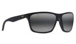 Maui Jim Makoa Prescription Sunglasses - Matte Black