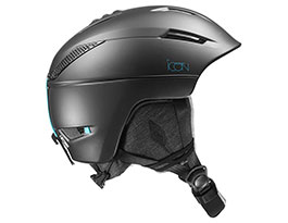Salomon Icon 2 Ski Helmet - Black