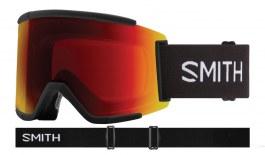 Smith Squad XL Ski Goggles - Black / ChromaPop Sun Red Mirror + ChromaPop Storm Yellow Flash