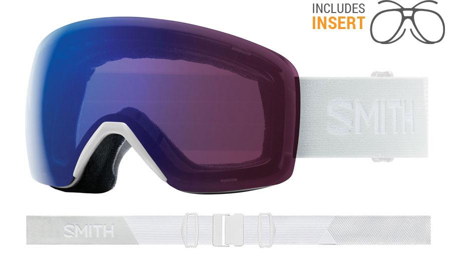 5a80b9afe42 Smith Optics Skyline Prescription Ski Goggles - White Vapor ...
