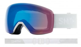 Smith Optics Skyline Ski Goggles - White Vapor / ChromaPop Storm Rose Flash