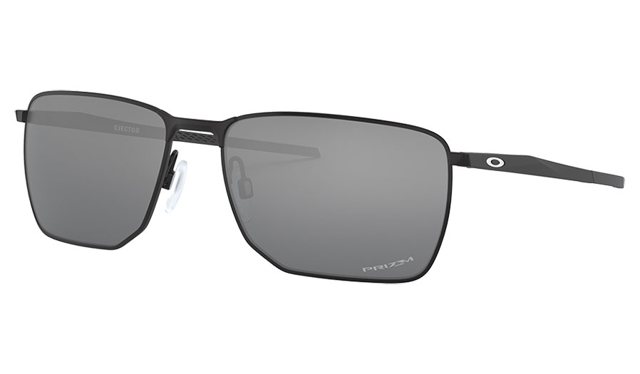Oakley Ejector Sunglasses - Satin Black / Prizm Black