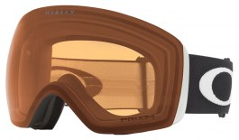 Oakley Flight Deck Ski Goggles - Matte Black / Prizm Persimmon
