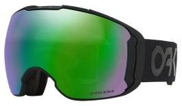 Oakley Airbrake XL Ski Goggles - Factory Pilot - Factory Pilot Blackout / Prizm Jade Iridium + Prizm Rose