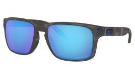 Oakley Holbrook Sunglasses - Matte Black Tortoise / Prizm Sapphire Polarised