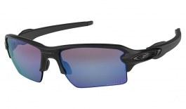 c6febce1765 Oakley Flak 2.0 XL Sunglasses - Matte Black   Prizm Deep Water Polarised
