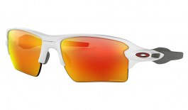 Oakley Flak 2.0 XL Sunglasses - Polished White / Prizm Ruby