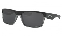 Oakley TwoFace Sunglasses - Matte Black / Prizm Black Polarised