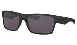 Oakley TwoFace Sunglasses - Steel / Prizm Grey