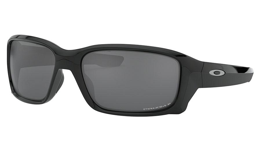 Oakley Straightlink Sunglasses - Polished Black / Prizm Black Polarised